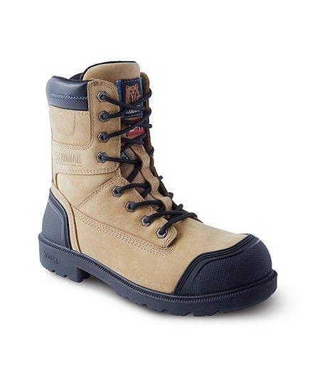 f07544945fe Men's 8'' Kodiak Blue Plus Aluminium Toe Composite Plate Work Boots