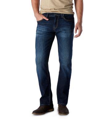 caa00ebf53 Men's Zach Straight Leg Deep Pacific Jeans
