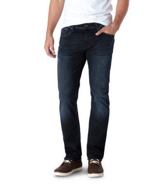 Jeans bleu circulaire
