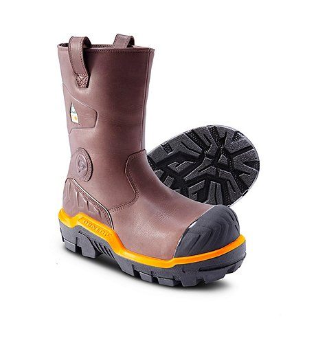 Mens Pull On Snow Boots Coltford Boots