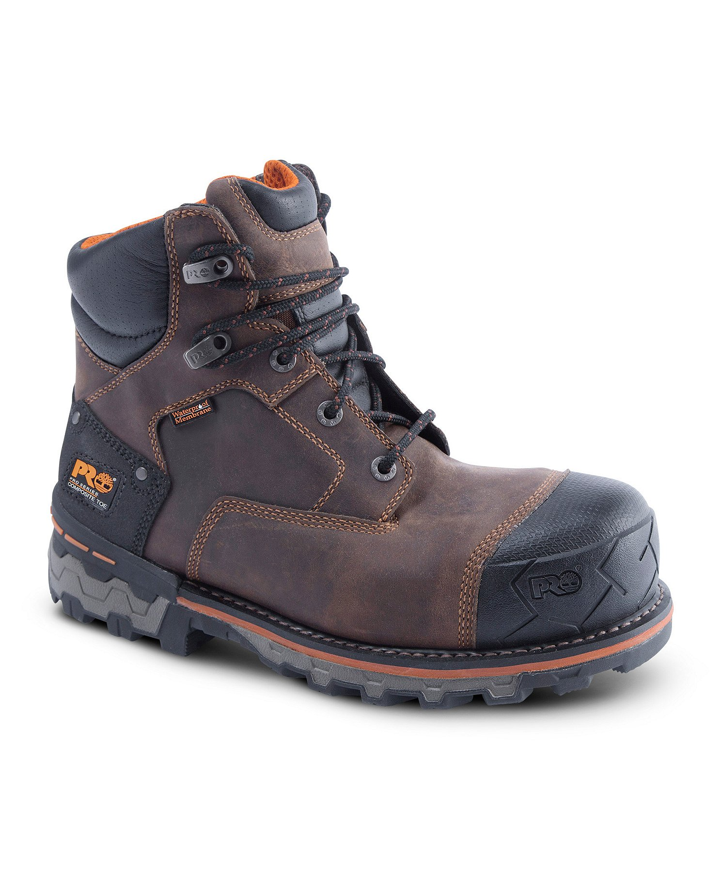 first look buy ever popular Mens 6'' Boondock Composite Toe Composite Plate Waterproof Work Boots