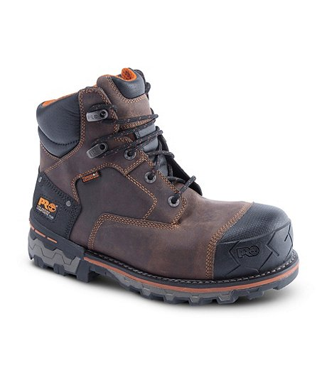 db4fa81b306 Timberland PRO Mens 6   Boondock Composite Toe Composite Plate Waterproof  Work Boots ...