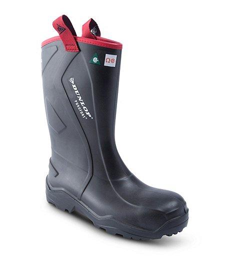 ef7af74055c Men's Purofort Rugged Steel Toe Steel Plate Rubber Safety Boots