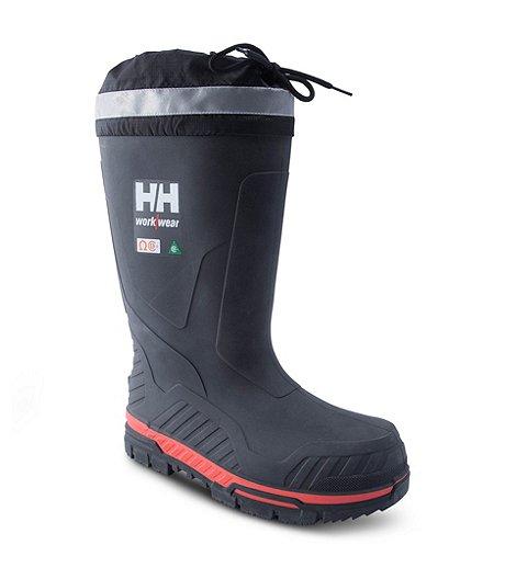 24ef898216dd0 Helly Hansen Workwear Bottes sécuritaires en caoutchouc avec isolation et  protection en composite, pour hommes ...
