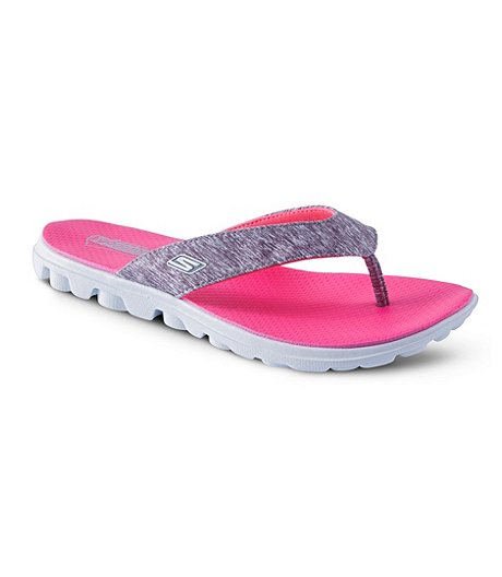a012722ed Skechers Women s Heathered 3 Point Sandals