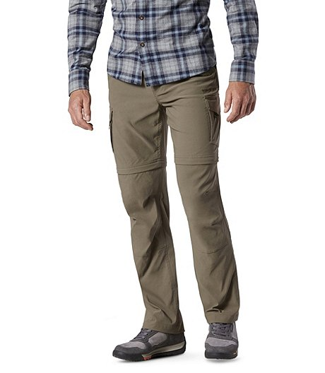 1aa4ec4fb0a0 WindRiver Men s Stretch Zip-Off Pants