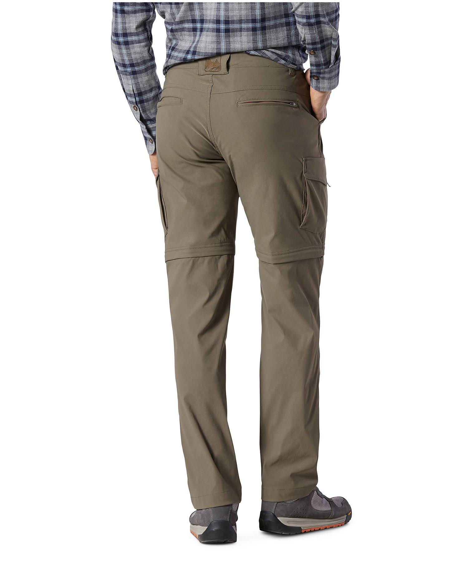 pas mal 387e8 7b76c Pantalon extensible à jambes amovibles à glissière pour hommes