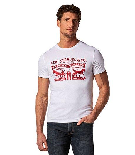 8987b36244a6b Levi s Men s 2 Horse Graphic T-Shirt
