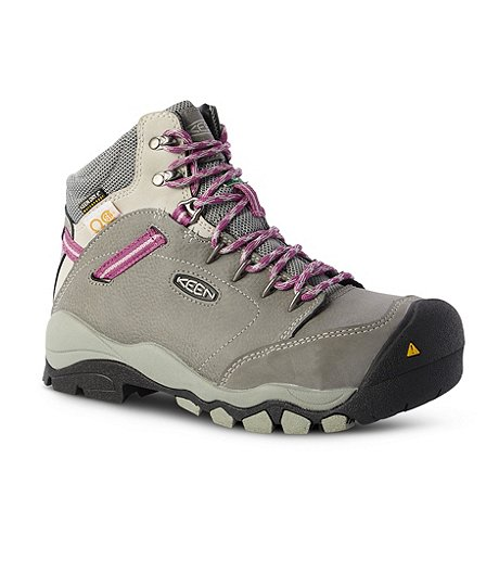 120d4c3fe81c Keen Utility Women s Mid-Cut Canby Aluminium Toe Composite Plate Waterproof  Work Boots ...