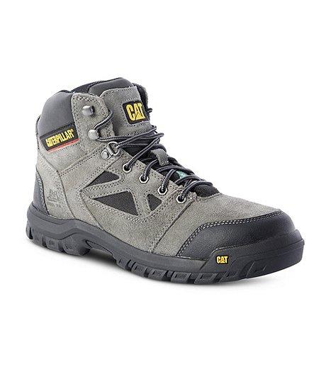 88695b73723 Men's Plan Steel Toe Steel Plate Work Boots