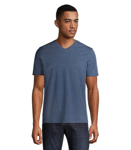 Men S Stretch V Neck T Shirt Mark S