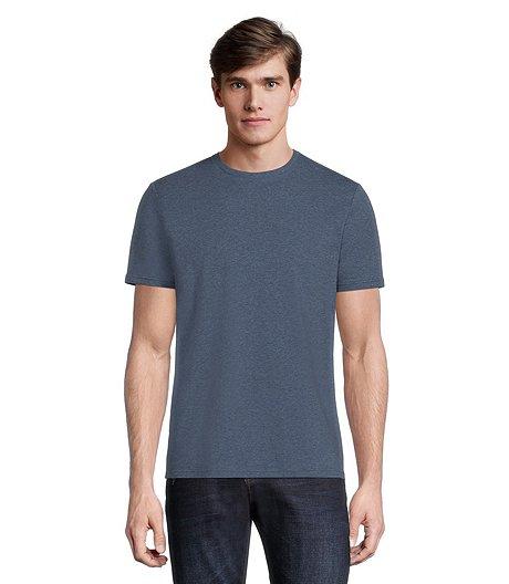 09112802 Men's Stretch Crew Neck T-Shirt