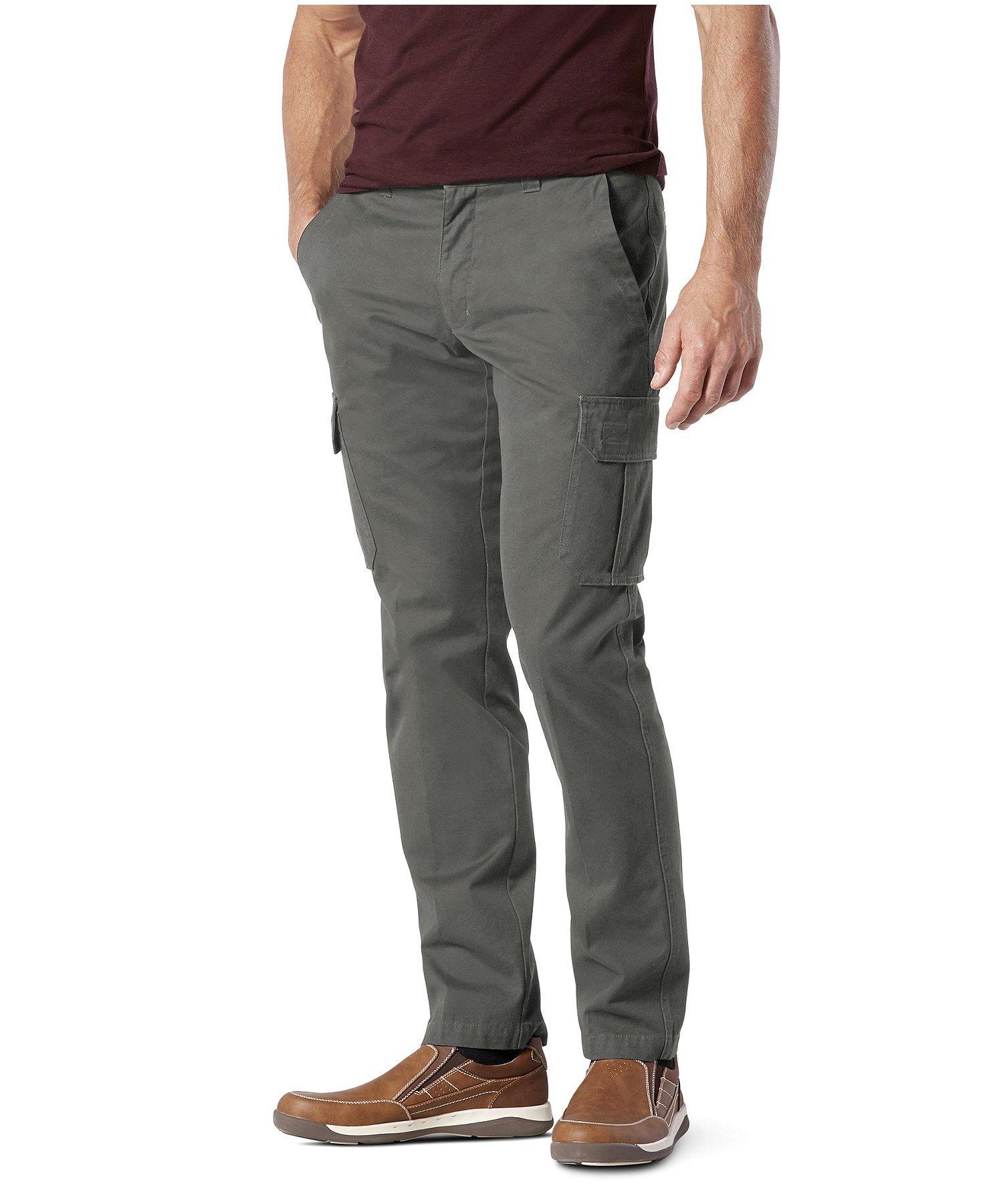 f6125e7b Men's Cotton Twill Cargo Pants