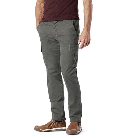 03e9df469 Pantalon cargo en sergé de coton pour hommes