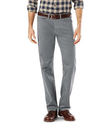 dc0844ca8 Dockers Men s Soft Stretch 5 Pocket Pants- Athletic Fit