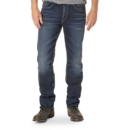 9e199d944be Silver® Jeans Co. Men's Grayson Easy Fit Straight Leg Dark Jeans