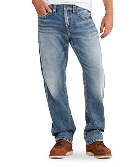 Silver® Jeans Co. Men's Grayson Easy Fit Straight Leg Jeans
