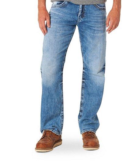 e2ee2a97 Silver® Jeans Co. Men's Gordie Stretch Light Wash Jeans