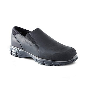 Snow Mocc Slip On Winter Shoes With Green Diamond