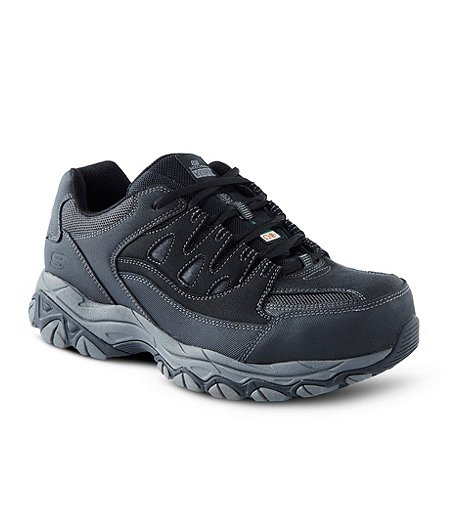 Skechers Work ATSP Slip Resistant Women's Black/Multi Athletic Shoes 7M