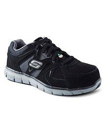 cd1e500e5ae2c Skechers Work Chaussures de sport et de travail à lacets avec embout en  aluminium et semelle ...
