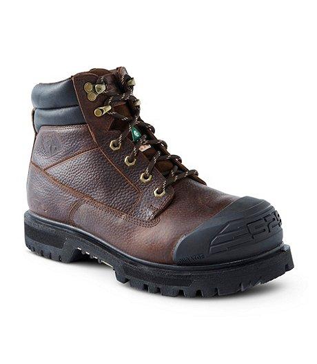 13a0932fc2e Dakota Men's 6'' 529 Steel Toe Steel Plate Injected Welt Work Boots ...