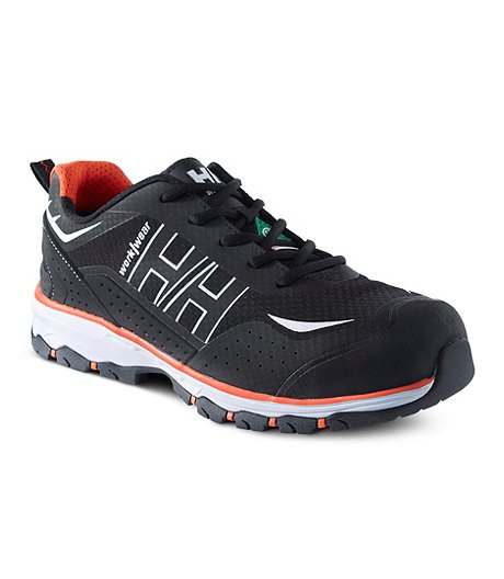 Men's Aluminum Toe Composite Plate Low Cut Safety Shoes