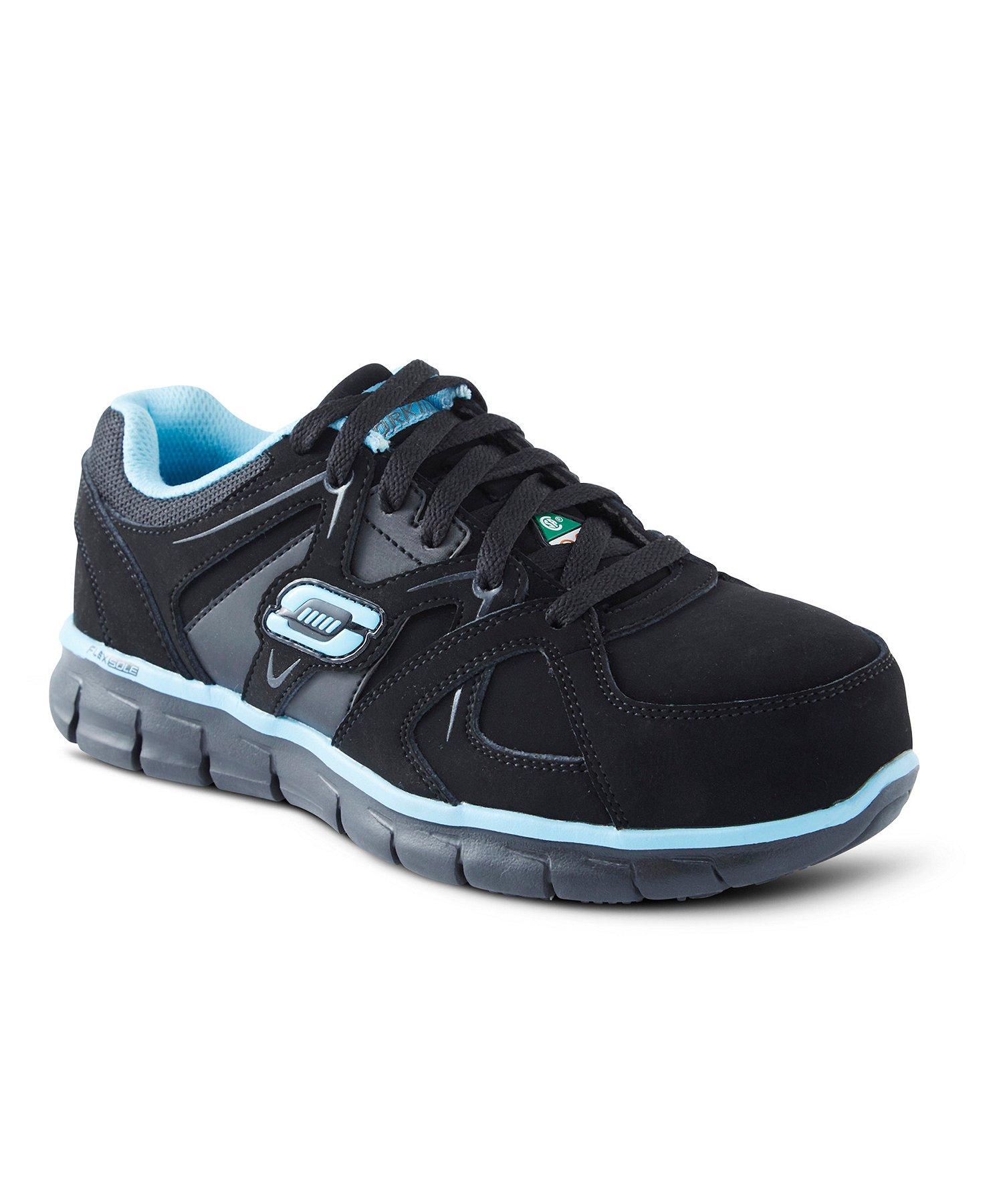 Women's Aluminum Toe Steel Plate Work Athletic Slip Resistant Shoes