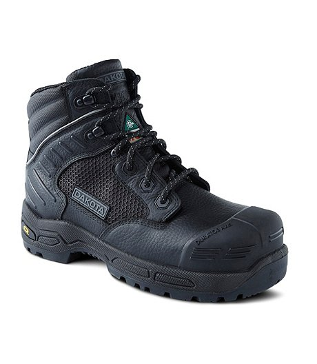 Dakota Men's 6 In 6410 Composite Toe Composite Plate Injected Work Boots