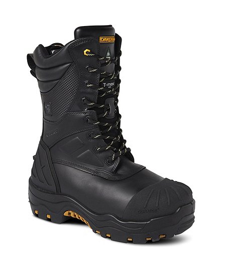 Men's 8901 Composite Toe Composite Plate HD3 Waterproof Work Boots