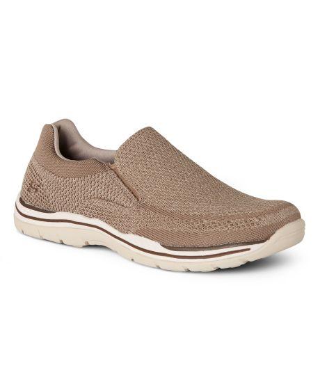 Skechers Relaxed Fit Expected Gomel Slip-On Sneaker(Men's) -Black