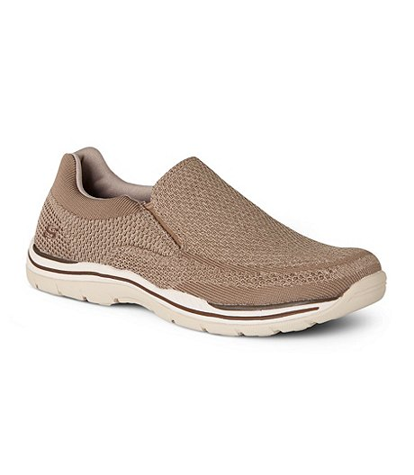 Discount For Sale Skechers Relaxed Fit Expected Gomel Slip-On Sneaker(Men's) -Black Clearance Order Cheap Latest Footlocker Finishline Cheap Online Cheap Low Price Fee Shipping xAIBR