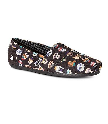 Skechers Women S Bobs Plush Pup Smarts Slip On Shoes