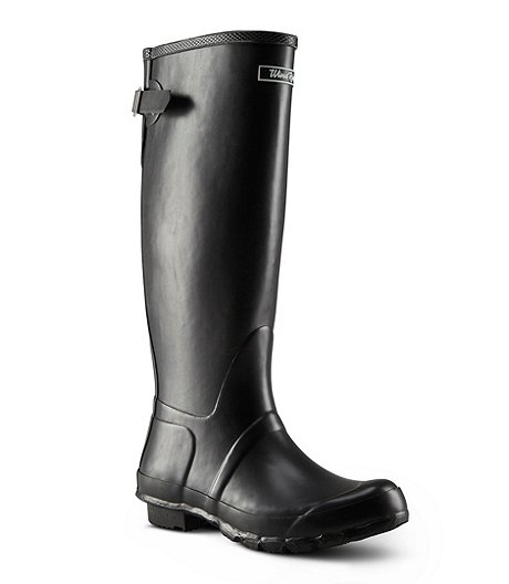 50429846 WINDRIVER. Women's Mist Tall Rubber Boots. $59.99. BUY AT MARK'S · Paper  Straw Bucket Hat With Grosgrain Band by Denver Hayes