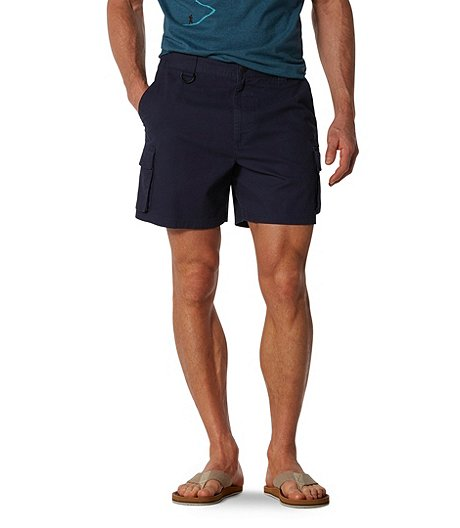 Men's Canvas Hiking Shorts With Stretch
