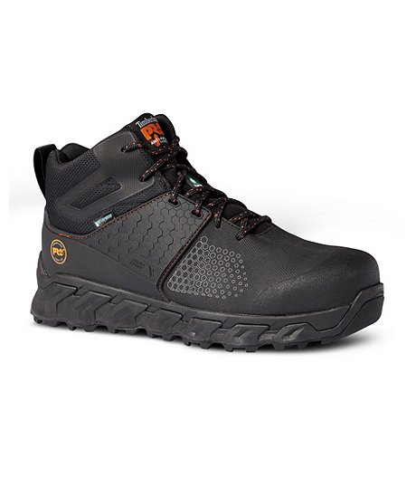 Timberland PRO Men s Pro Ridgework Composite Toe Composite Plate Waterproof  Safety Boots 7a2fd48aaccf