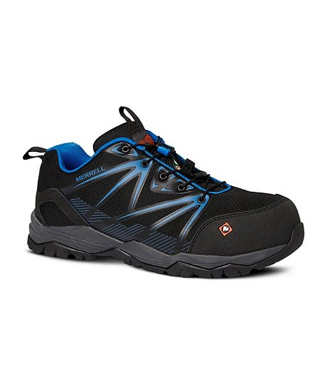 5e19495466 Men's Work Full Bench Composite Toe Composite Plate CSA Safety Hiking Shoes