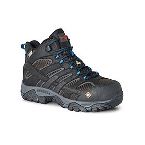 8819d18cd70 MEN'S WORK MOAB 2 VENT COMPOSITE TOE COMPOSITE PLATE WATERPROOF CSA MID  HIKING BOOTS | Mark's