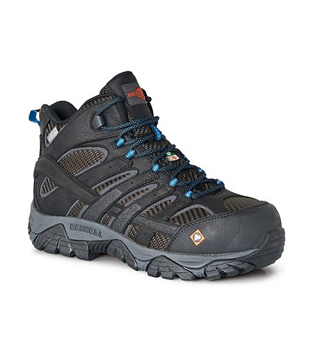1aa5933f224 Men's Work Moab 2 Vent Composite Toe Composite Plate Waterproof CSA Mid  Hiking Boots