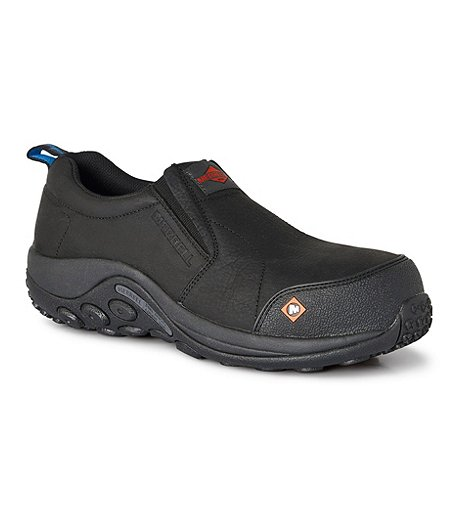 383fb1b3fb Merrell Work Men's Work Jungle Moc Composite Toe Composite Plate CSA Hiking  Shoes