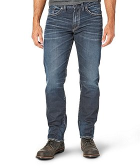 Silver® Jeans Co. Men's  Eddie Relaxed Fit Tapered Leg Jeans