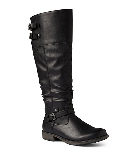 6466241787b Denver Hayes Women s Emsley Riding Boots- Wide Calf