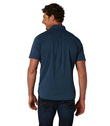WindRiver Men's Short Sleeve Stretch Utility Shirt - Classic Fit