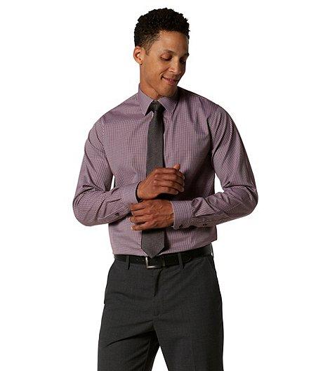a507ad3c097 Denver Hayes Men s Never Iron Check Dress Shirt - Modern Fit
