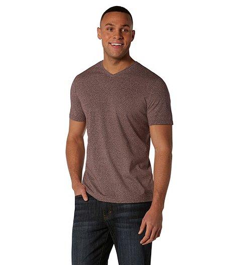 bf7d5eb06fb5 Shoptagr | Men's Stretch Melange V Neck T Shirt by Denver Hayes
