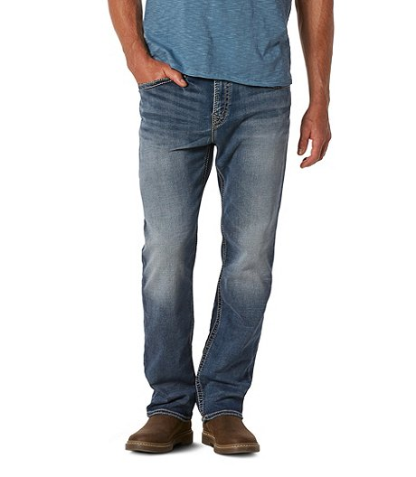 db015e50 Silver® Jeans Co. Men's Grayson Easy Fit Straight Leg Jeans