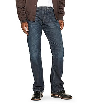 Silver® Jeans Co. Men's Zac Relaxed Straight Leg Jeans