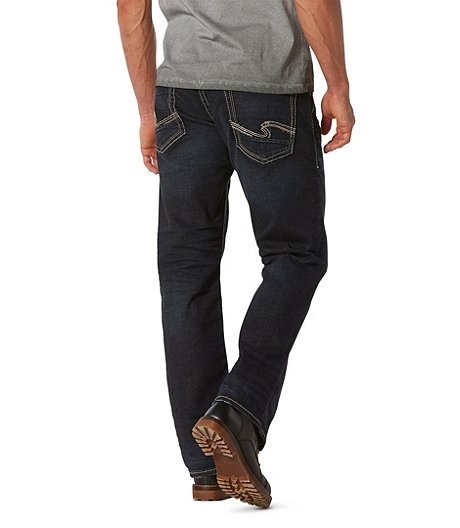 Silver® Jeans Co. Men's Gordie Loose Fit Straight Leg Jeans