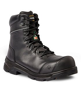 Terra Men's VRTX 8000 8 In Composite Toe Composite Plate Leather Work Boots