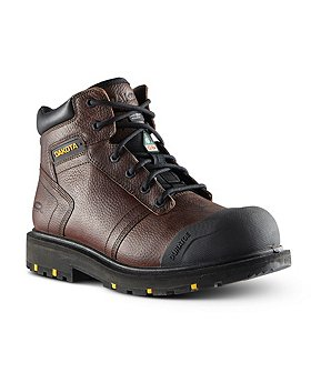 Dakota Men's Dakota 6002 6 In Steel Toe Steel Plate Leather Work Boots